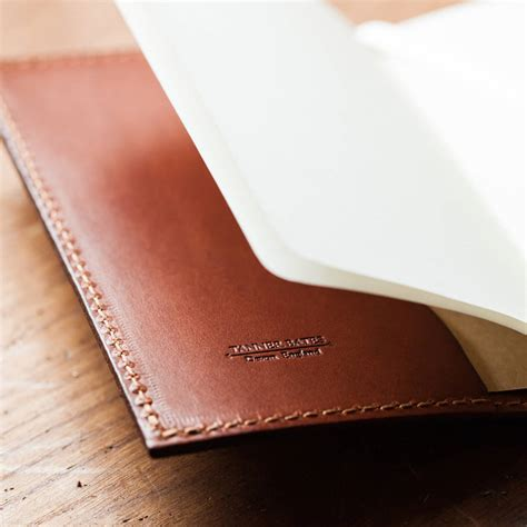 leather bound notebooks uk personalised leather bound moleskine cahier journal by