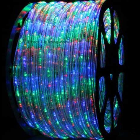 rope light multi color multi color led rope lights 148ft rlwl 148 mt direct