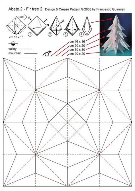 Origami Cp Abete 2 Fir Tree 2 By Francesco Guarnieri