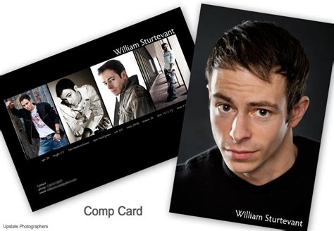make your own comp card promo prints mcgreevy prolab propress