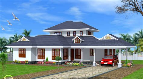 Detached Garage Design Ideas kerala single story house model amazing architecture
