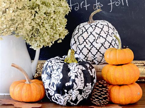 decoupage pumpkins 6 fabulous ways to decoupage pumpkins diy network