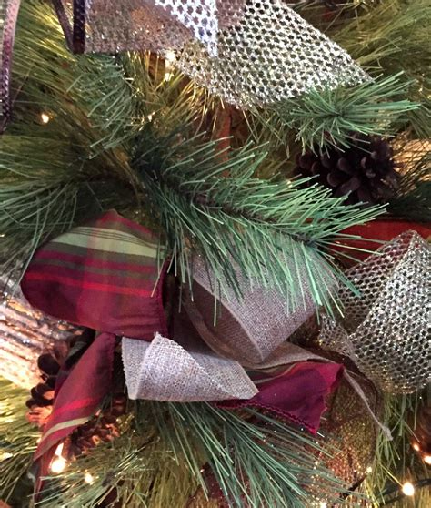 decorating with ribbon hometalk how to decorate a tree with ribbon