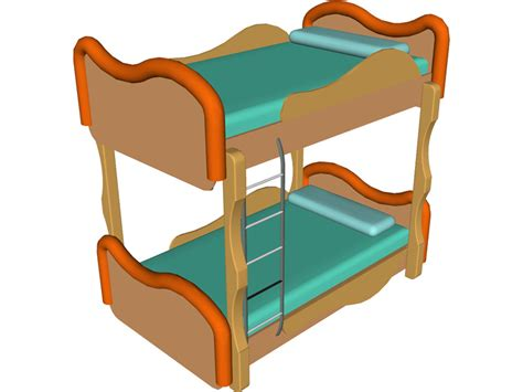 pictures of a bunk bed bunk bed 3d model 3d cad browser
