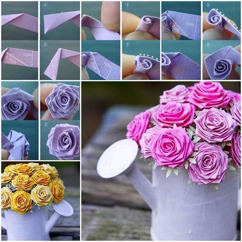 origami paper roses diy beautiful origami