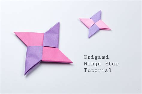 how to make origami throwing origami tutorial