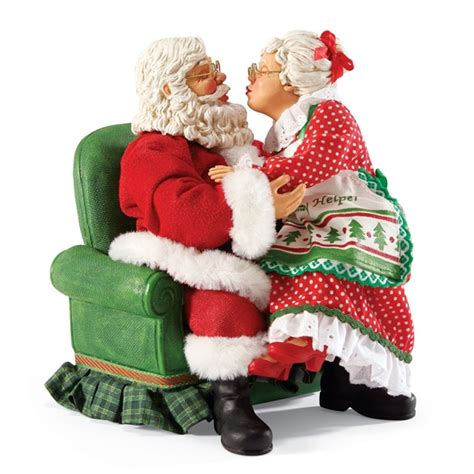 santas of the world figurines santa and mrs claus possible dreams figurine