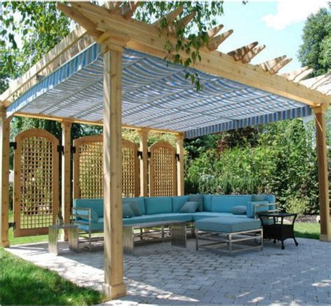 pergola covers fabric pergola and patio covers freestanding but protected