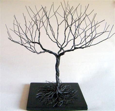 how to make a wire jewelry tree like this item