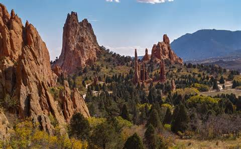 Garden Of The Gods Fall Fall Colors At The Garden Of The Gods Colorado Springs