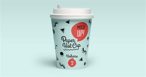 psd paper cup template vol2 psd mock up templates