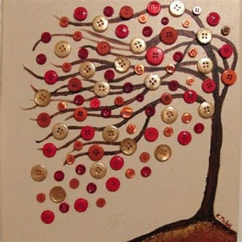 creative arts and crafts for 30 creative diy fall buttons craft ideas