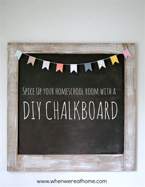 diy chalkboard bulletin board 32 best images about shabby chic classroom on