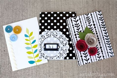 card made easy handmade card ideas that is creative and inexpensive is