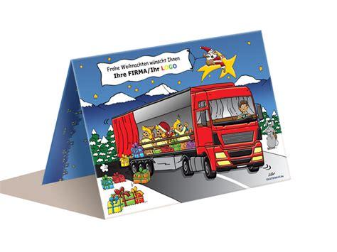lkw weihnachtsbaum weihnachtskarte spedition lkw ab 50 st 252 ck 159 46 eur