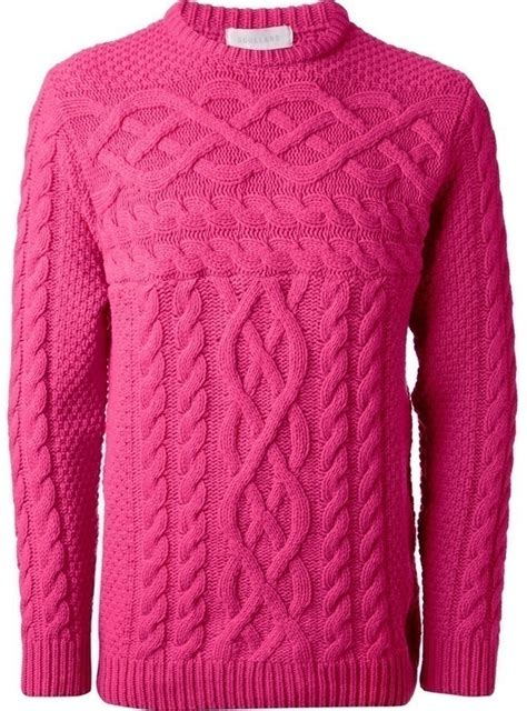 cable knit sweaters pink cable sweater soulland cable knit sweater where to