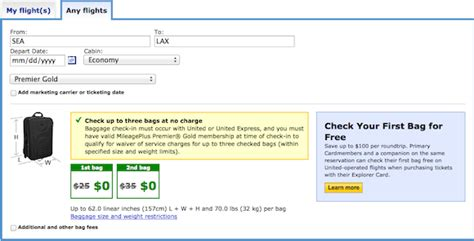 united baggage allowance coupons klm check in baggage time