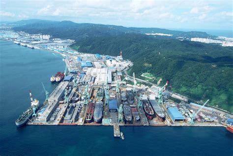 Hyundai Shipyard by Shipyard Hyundai Mipo Dockyard Co Ltd Ulsan