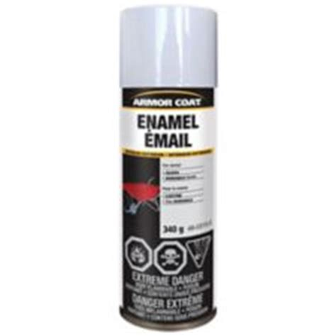 glow in the paint canadian tire armor coat enamel gloss white spray paint 340 g