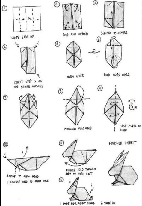 how to make a bunny origami origami rabbit origami origami rabbit and
