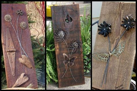rustic craft projects jeanne s barnwood blooms crafts
