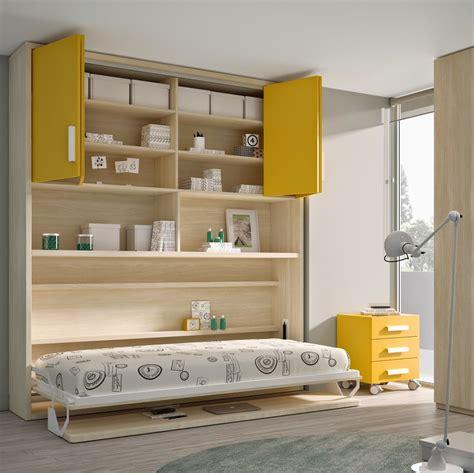 dormitorios peque os decoracion literas abatibles soluci 211 n en habitaciones compartidas