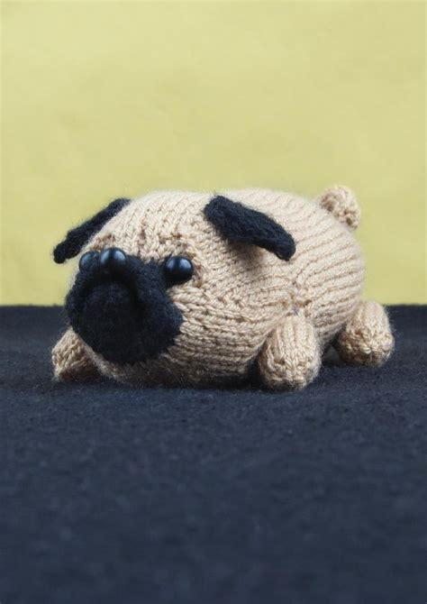 knitted pug pattern jolly the pug knitting pattern by louise walker knitting