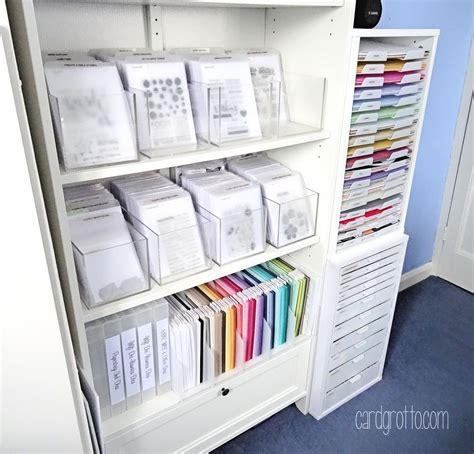 craft paper storage ideas for my studio on craft rooms scrapbook