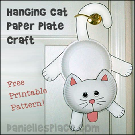 cat paper plate craft pin cat picjpg on