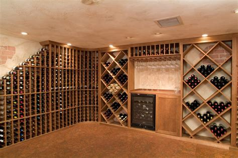 vigilant woodworks residential wine cellar chess mediterranean wine cellar