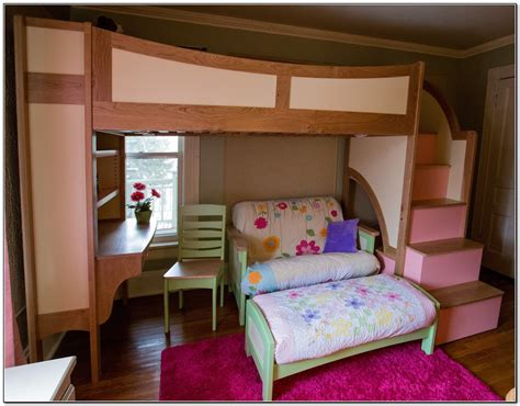 bunk beds for with stairs and desk bedroom bunk beds with stairs and desk for cottage