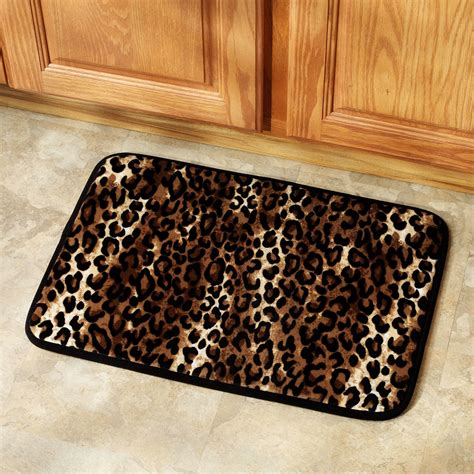 animal print bathroom accessories leopard print kitchen accessories house furniture