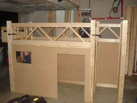 home built bunk beds how to build a truck bunk bed home design garden
