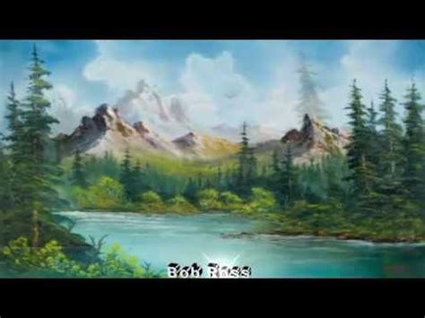 bob ross painting landscape landscape paintings by bob ross landscapes in motion