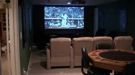 Home Theater Game Room Ideas