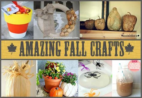 amazing crafts for 13 amazing and easy fall crafts clumsy crafter