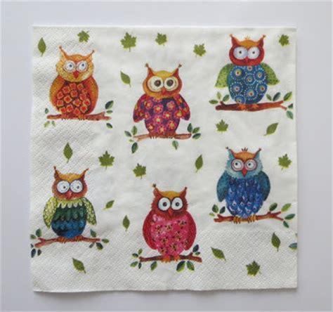 owl decoupage mistletoe home decoration decoupage box with owls