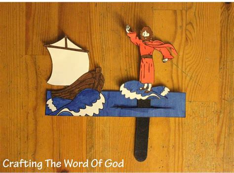 Jesus Walks On Water 171 Crafting The Word Of God