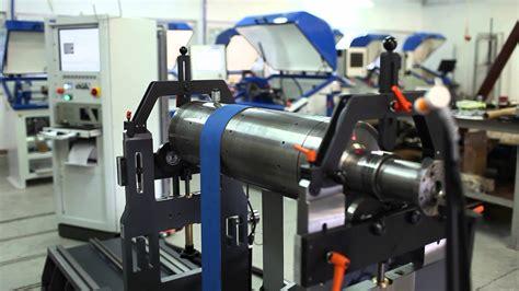 Electric Motor Balancing by Cimat Universal Horizontal Balancing Machine On Bed Burke