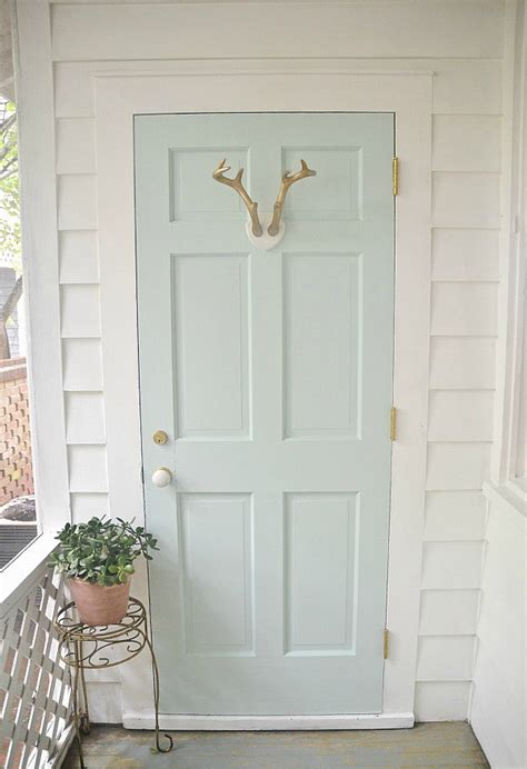 behr paint colors for exterior doors mint door sunroom makeover mint door door