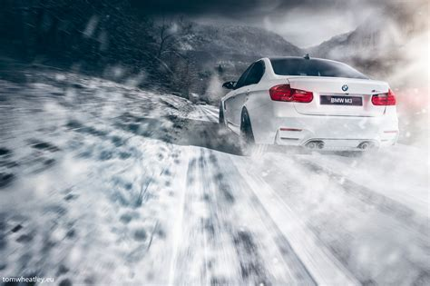 Car Wallpaper Snow by Wallpaper Car Snow Bmw Vehicle Drift M4