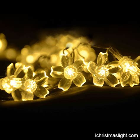led flower string lights made in china ichristmaslight