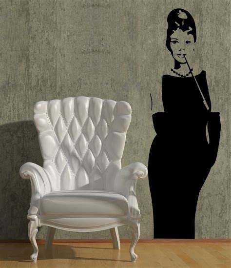 hepburn wall sticker give a touch of creativity to your home with the wall stickers