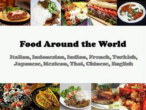food around the world authorstream