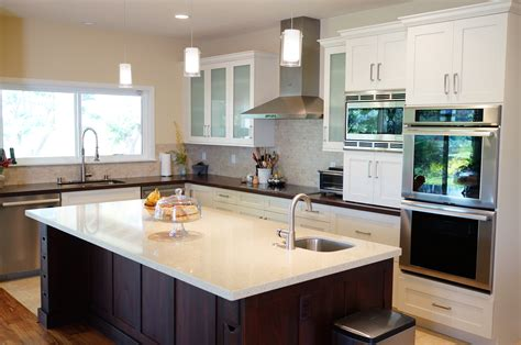best kitchen layout with island five basic kitchen layouts homeworks hawaii