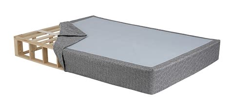 bed and box ghostbed foundation product page ghostbed