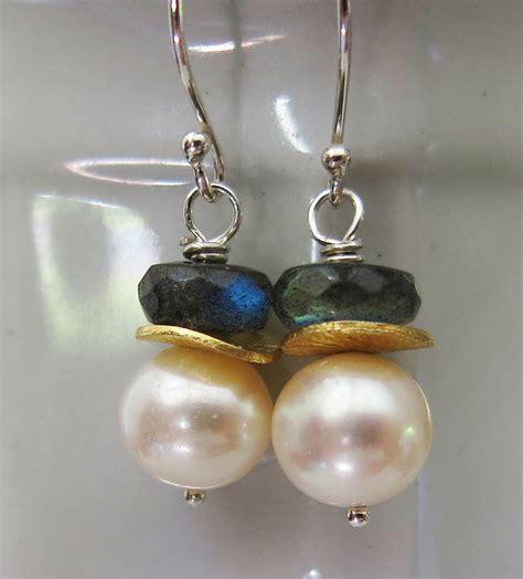 handmade beaded jewelry sale handmade pearl and labradorite earrings handmade jewelry