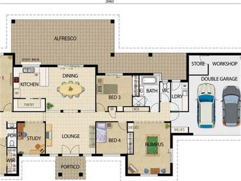 simple open floor plan homes autocad 2d drawing sles 2d autocad drawings floor plans