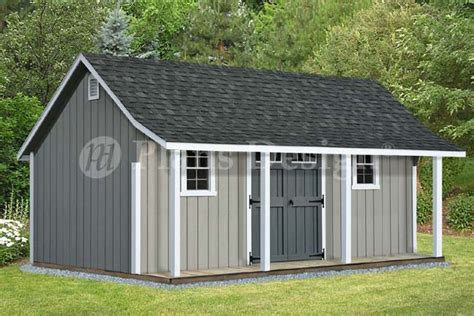 shed with porch plans free 14 x 20 cape code storage shed with porch plans p81420