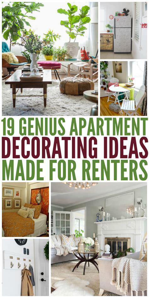s apartment decorating ideas 19 genius apartment decorating ideas made for renters